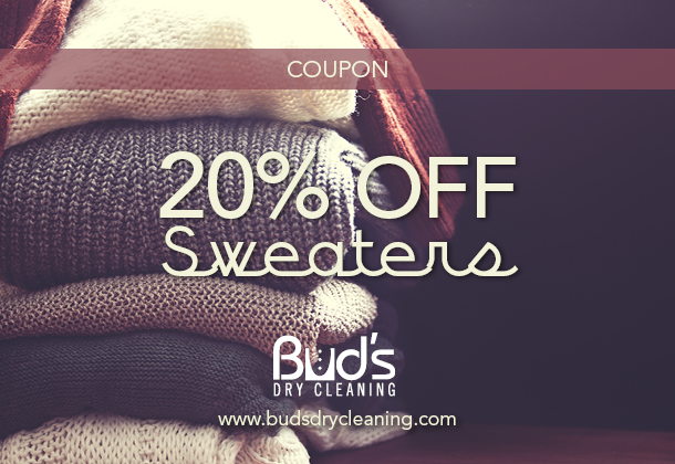 20% Off Sweaters Promotion