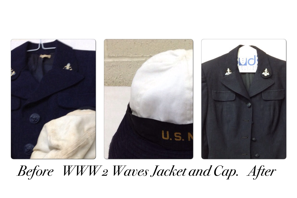 World War 2 Waves Jacket and Hat